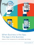 When Business is the App, The App is the Business - <br>Volume II: Four Components of a Solid Mobile App Strategy