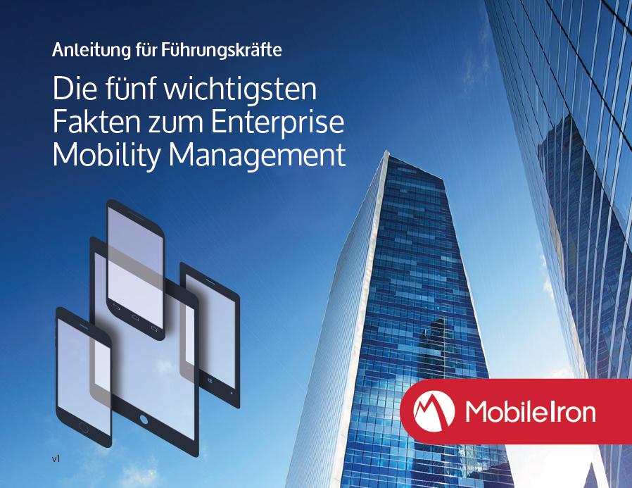 Anleitung für Führungskräfte<br>Die fünf wichtigsten Fakten zum Enterprise Mobility Management