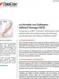 10 Vorteile von Softwaredefined Storage (SDS)