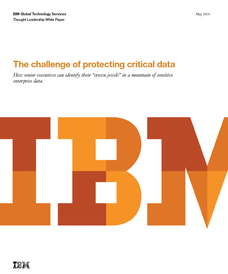 The challenge of protecting critical data