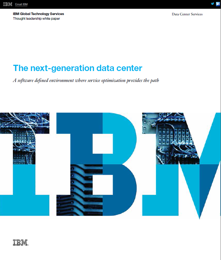 The next-generation data center
