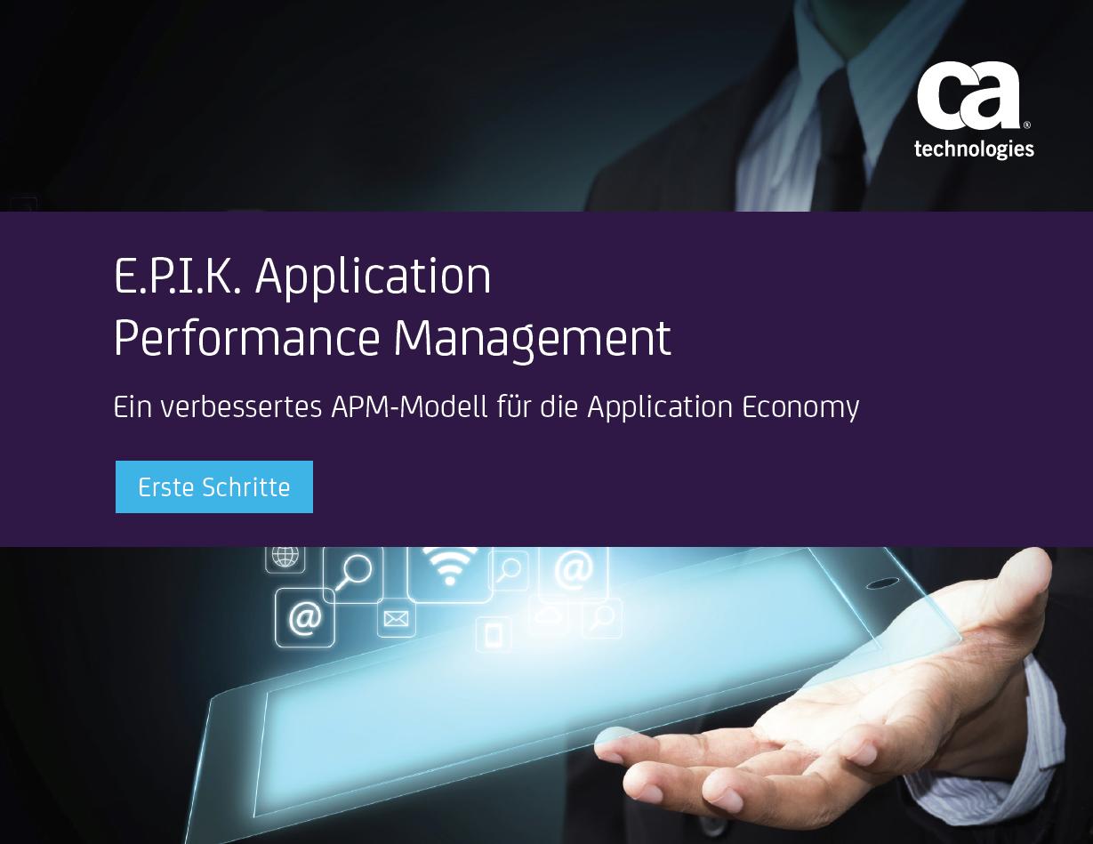 E.P.I.K. Application Performance Management
