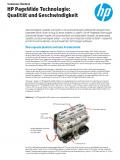HP PageWide Technologie: Qualität und Geschwindigkeit