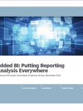 Embedded BI: Putting Reporting and Analysis Everywhere