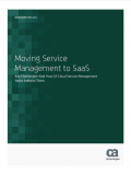 Moving Service Management to SaaS