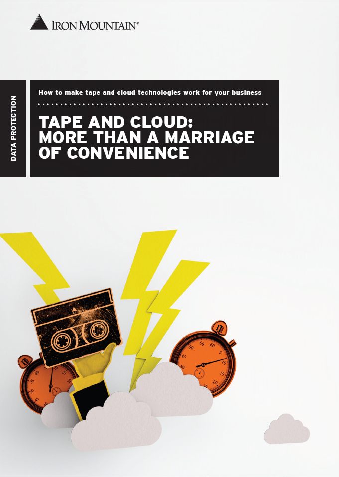 Tape and cloud: More than a marriage of convenience