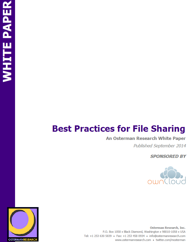 Best Practices for File Sharing