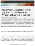 Der einfache Weg, Macs und Mobilgeräte mit Windows-Dateiservern zu verbinden