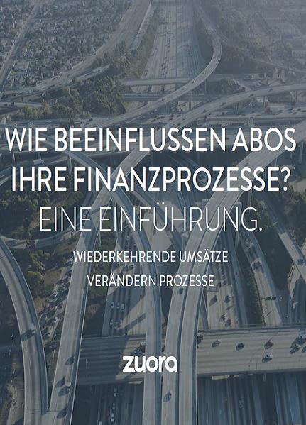 Einführung: Wie beeinflussen Abos Ihre Finanzprozesse?