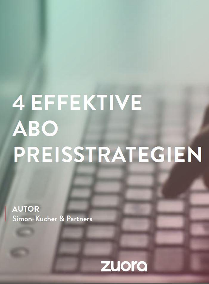 Ratgeber: Vier effektive Abo-Preisstrategien