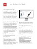 Infor Configure Price Quote - Die professionelle CPQLösung für komplexe Produkte