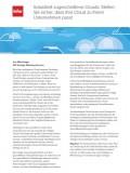 Industriell zugeschnittene Clouds: Stellen Sie sicher, dass Ihre Cloud zu Ihrem Unternehmen passt