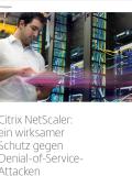 Citrix NetScaler: ein wirksamer Schutz gegen Denial-of-Service- Attacken