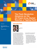 The Flash Revolution Advances as the All-Flash Array Market Reaches Tipping Point