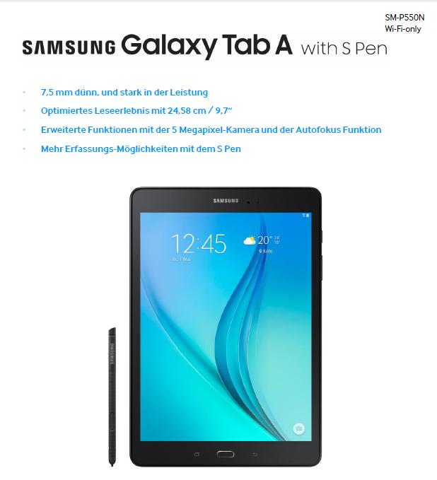 Produktvorstellung: Das Samsung Galaxy Tab A