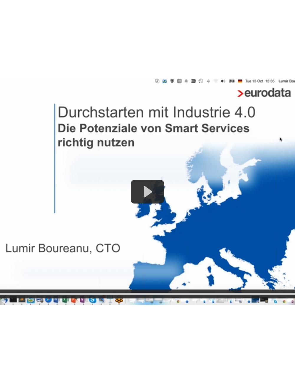 Webinar: Durchstarten mit Industrie 4.0 – Die Potenziale von Smart Services richtig nutzen