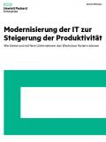 Modernisierung der IT zur Steigerung der Produktivität