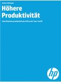 Hohe Mitarbeiterproduktivität durch Microsoft® Lync® und HP