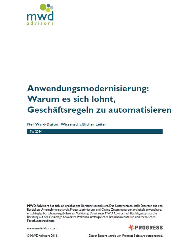 Anwendungsmodernisierung: Warum es sich lohnt, Geschäftsregeln zu automatisieren
