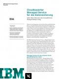 Cloudbasierter Managed Service für die Datensicherung
