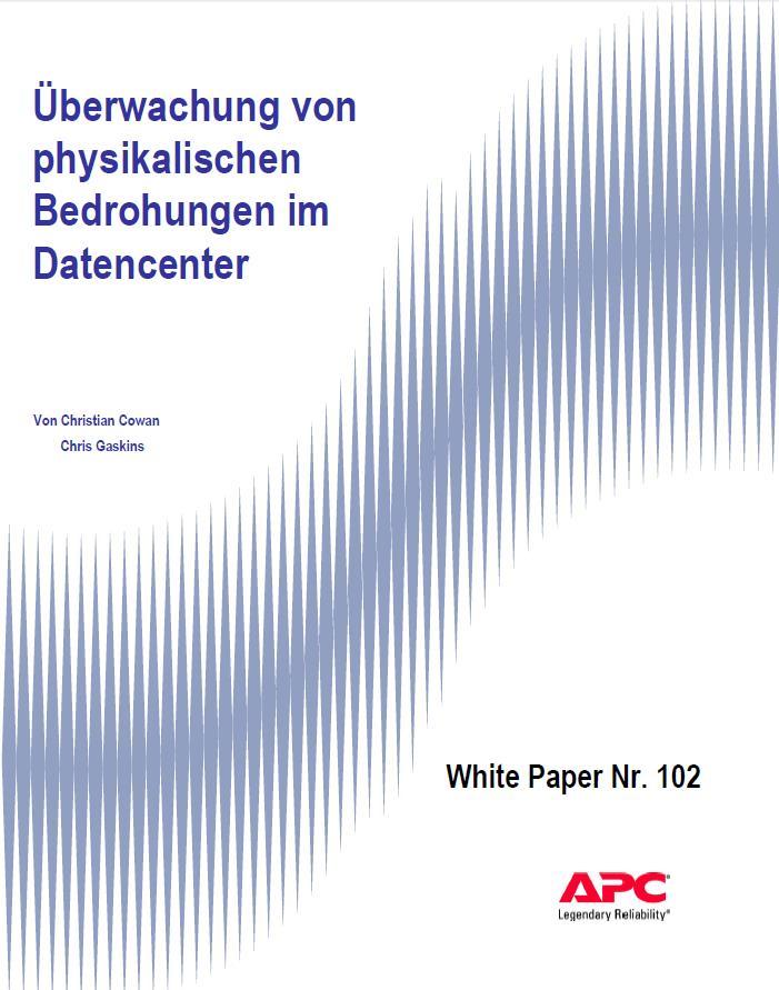 Überwachung von physikalischen Bedrohungen im Datencenter
