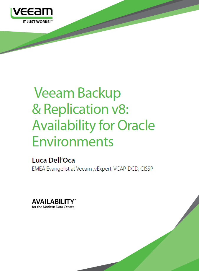 What guarantees a high degree of availability for Oracle databases?