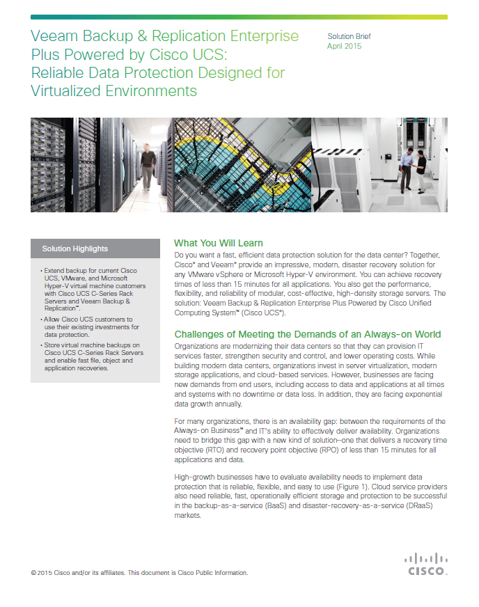Reliable Data Protection Designed for Virtualized Environments