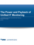 The Power and Payback of Unified IT Monitoring
