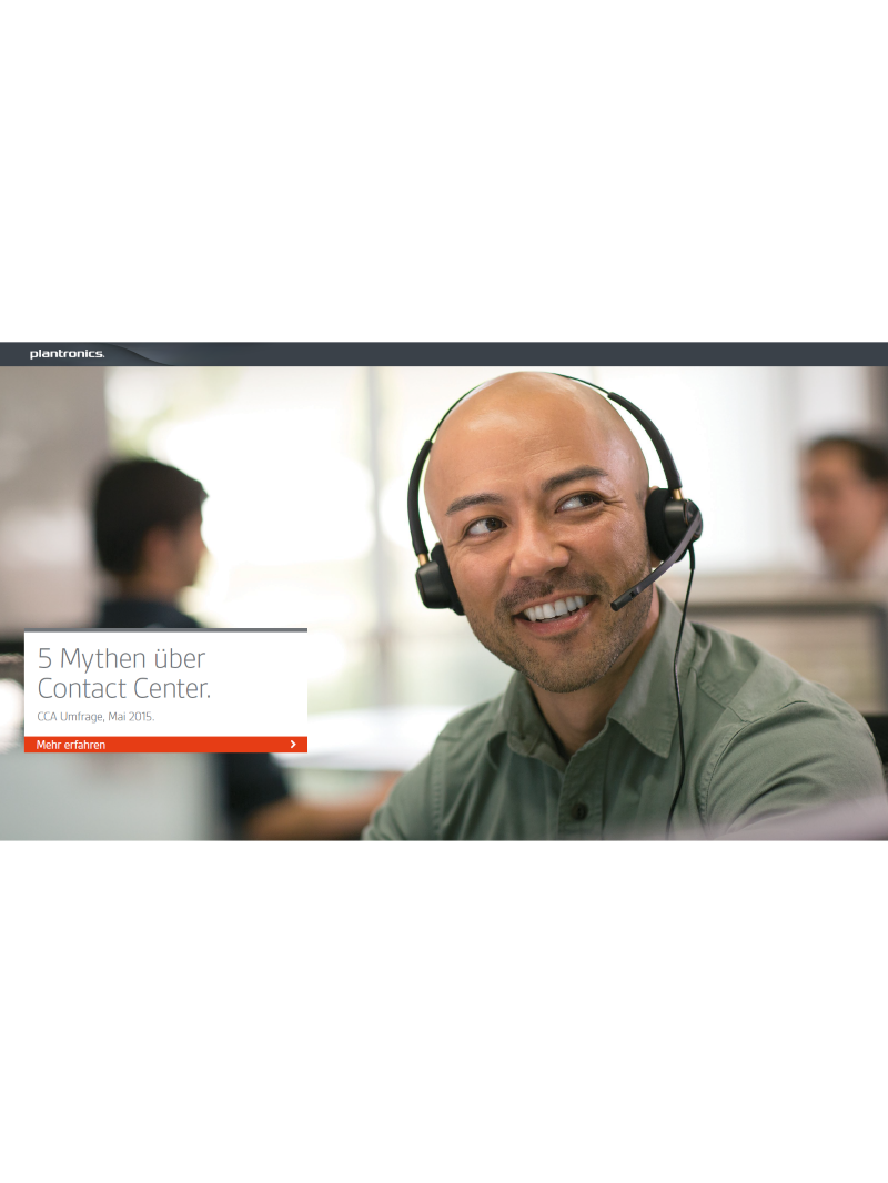 5 Mythen über Contact Center