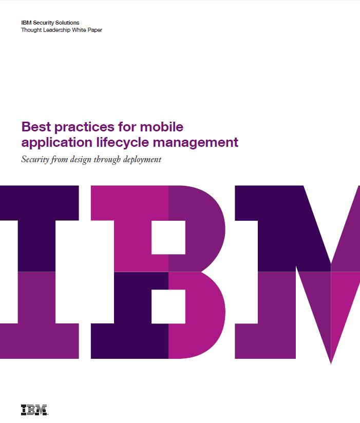 Best practices for mobile application lifecycle management