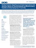 Dell Data Protection | Rapid Recovery 6.0 bietet Organisationen Flexibilität