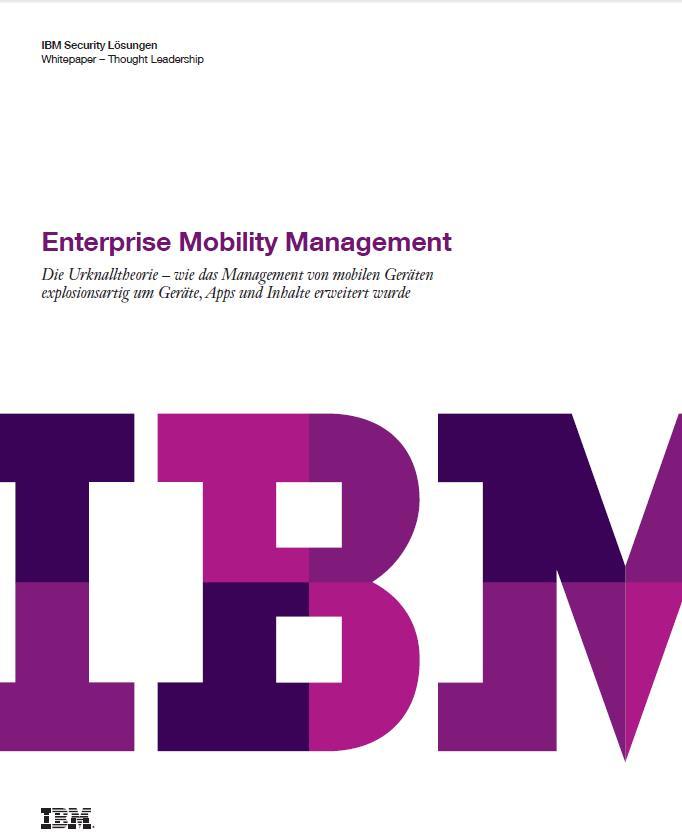 Enterprise Mobility Management – oder Die Theorie des Urknalls