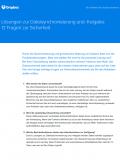 Lösungen zur Dateisynchronisierung und -freigabe: 12 Fragen zur Sicherheit