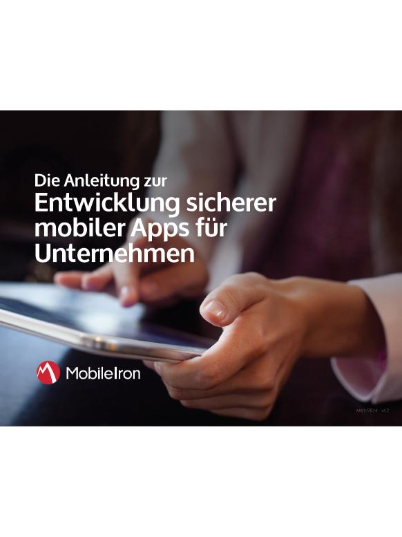Anleitung zur Entwicklung sicherer mobiler Apps für Unternehmen