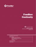 FreeStor: Continuity