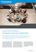 TeamConnect Wireless – Erfolgreiche Meetings in jedem Raum
