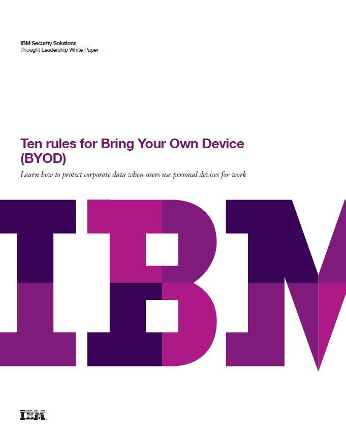 Die zehn wichtigsten Regeln für BYOD