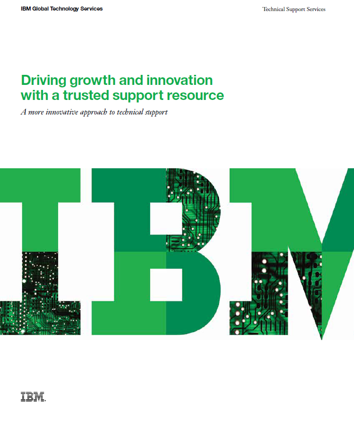 Driving growth and innovation with a trusted support resource