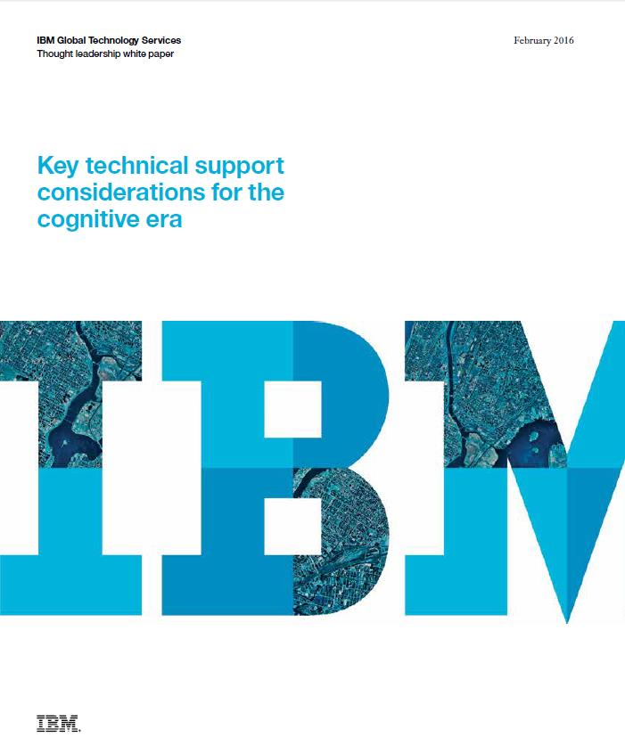 Cognitive Computing als Grundlage für neue Support-Modelle