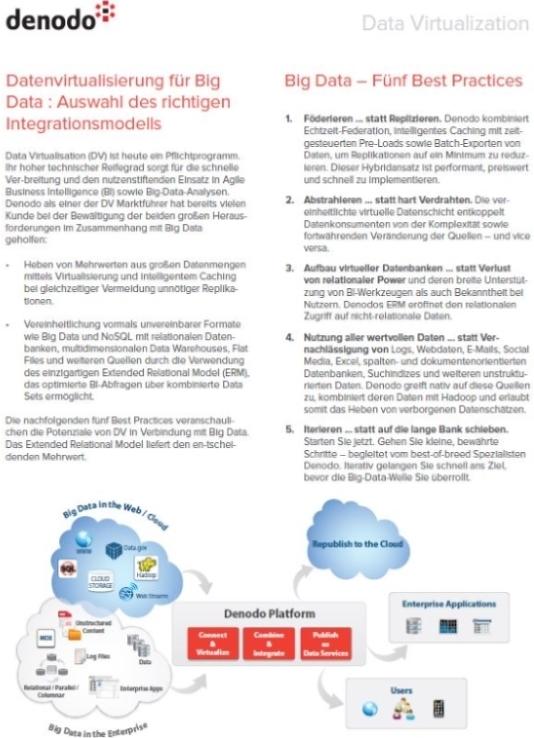 Denodo: Fit für Big Data mit Datenvirtualisierung