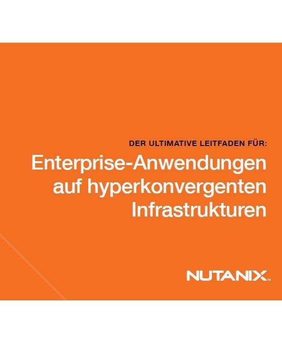 Leitfaden: Enterprise-Anwendungen auf hyperkonvergenten Infrastrukturen betreiben
