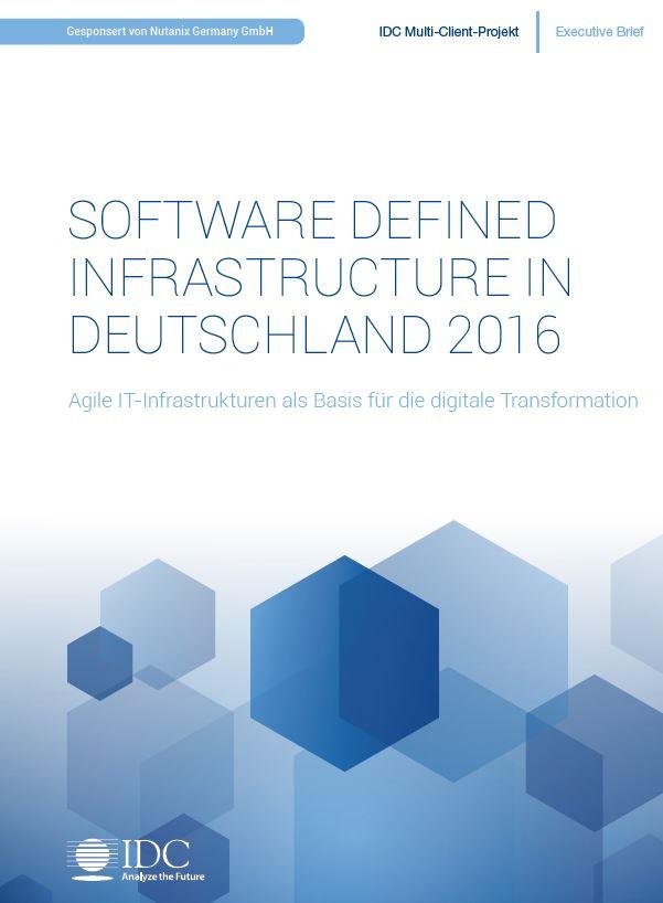 Software Defined Infrastructure: Nutzen und Hürden aus Sicht deutscher Firmen