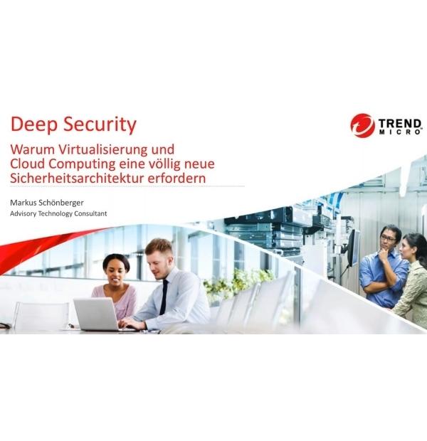 Webinar: Virtualisierung und Cloud Computing erfordern neuen Ansatz bei IT-Sicherheit