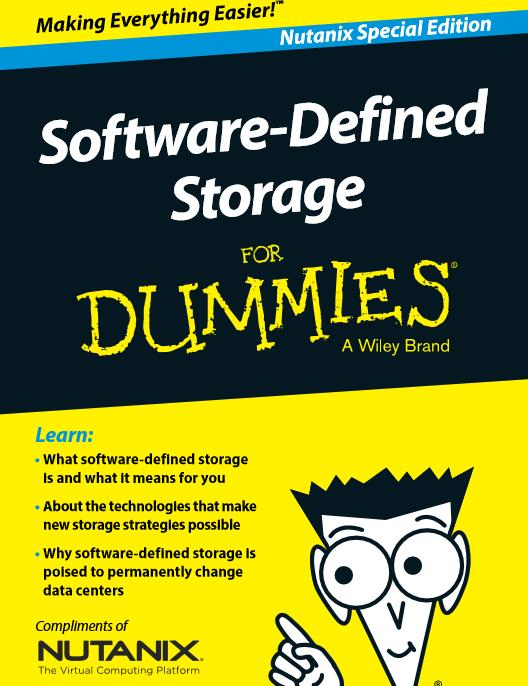 Software-Defined-Storage for Dummies