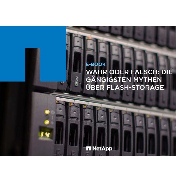Aufgedeckt: 9 weit verbreitete Mythen über Flash-Storage in Unternehmen