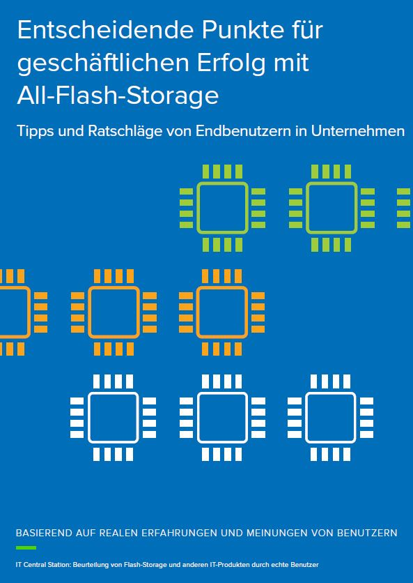 Praxiserfahrungen mit All-Flash-Storage