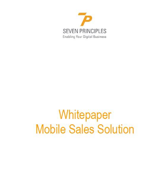 Anforderungen und Vorteile einer mobilen Vertriebslösung