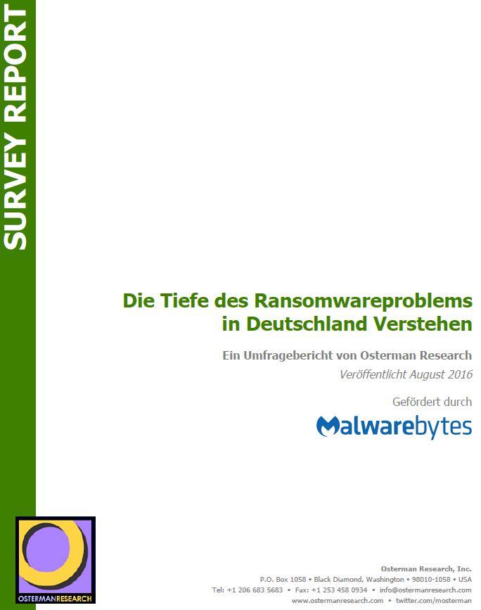 Das Ransomware-Problem in Deutschland verstehen