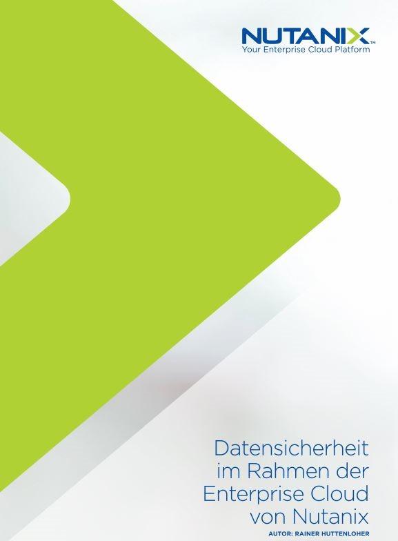Datensicherheit im Rahmen der Enterprise Cloud von Nutanix