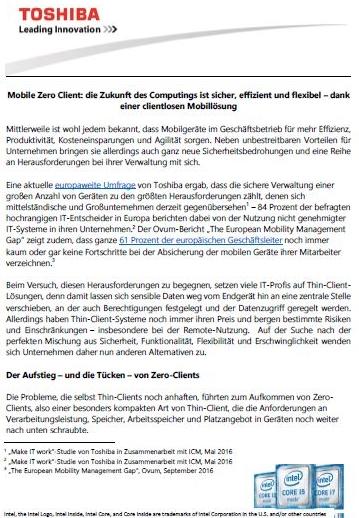 Mobile Zero Client: Die Zukunft des Computings